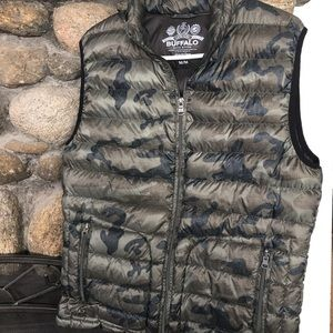 Buffalo David Britton Men's Camo Vest